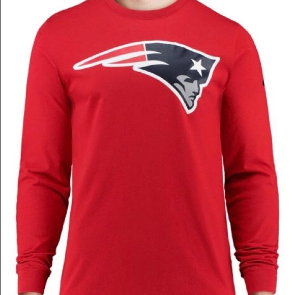 Men s New England Patriots Nike Shirt  16a569f09